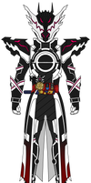 Kamen Rider Evol: Black Hole Dragon Form by DarkTidalWave