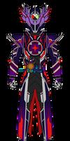 Kamen Rider Dire: Apocalypse Form by DarkTidalWave