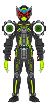 Kamen Rider Aion: MythoArmor by DarkTidalWave