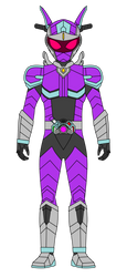 Kamen Rider Gears: Rabbit Motor by DarkTidalWave