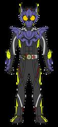 Kamen Rider Zero-One: Sneaking Raccoon by DarkTidalWave