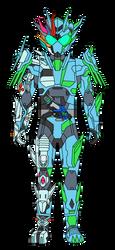 Kamen Rider Riot Streaker by DarkTidalWave