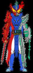 Kamen Rider Saber: Dragon Lion Jackun by DarkTidalWave