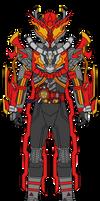 Commission: Kamen Rider Flare