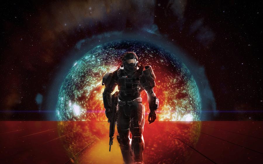 N7 Spartan Wallpaper. by StalkerUKCG
