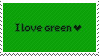 Green Stamp by Cave-Shinobi