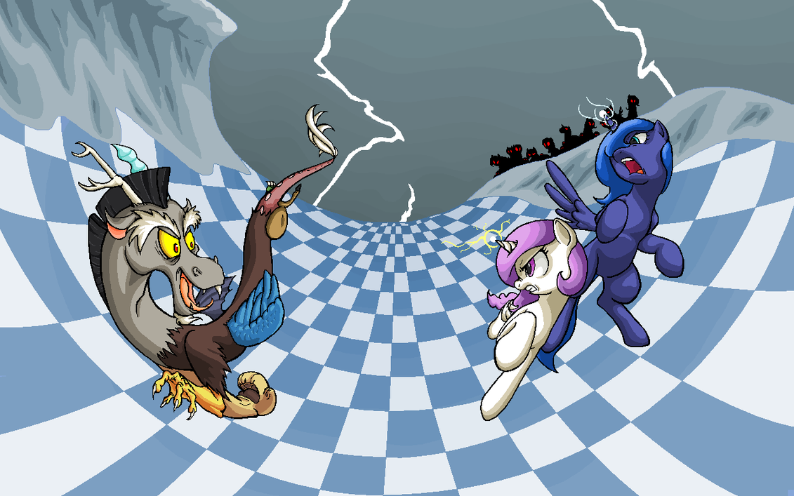 Battle Against Discord by Cave-Shinobi