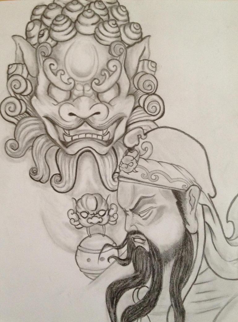 Guan Yu Manga for Pint...