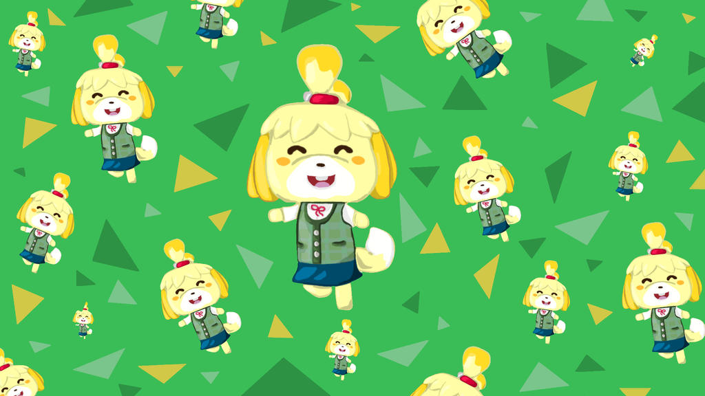 Isabelle Animal Crossing Wallpaper By Totallyhypnosquid On