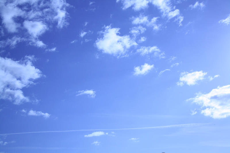 Blue Cloudy Sky Cloudy blue sky stock by