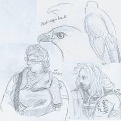 Sketch Compilation, September 28 by thisismyboat