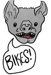 Bikes Bat! by thisismyboat