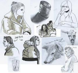 Sketch Dump Jan-Apr by thisismyboat