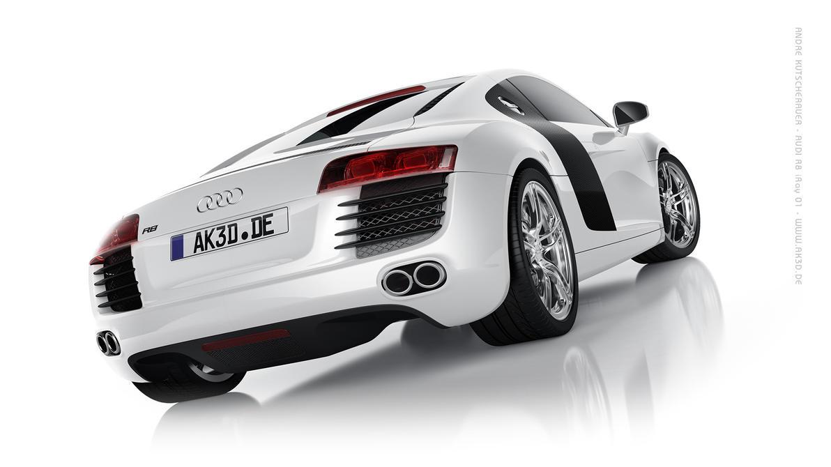 Audi R8 2 - Nurbs Modeling by Kutsche