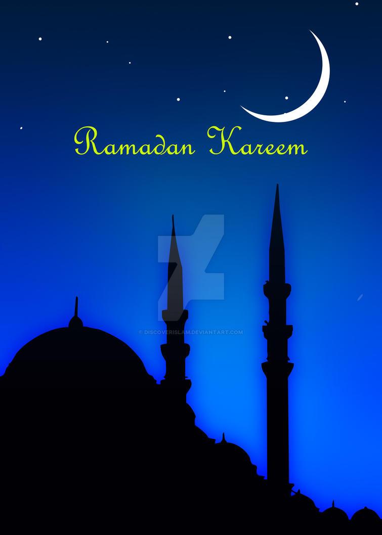 Ramadan Kareem Greeting Card By Discoverislam On Deviantart