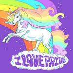 Unicorns Love Pride by Aidadaism