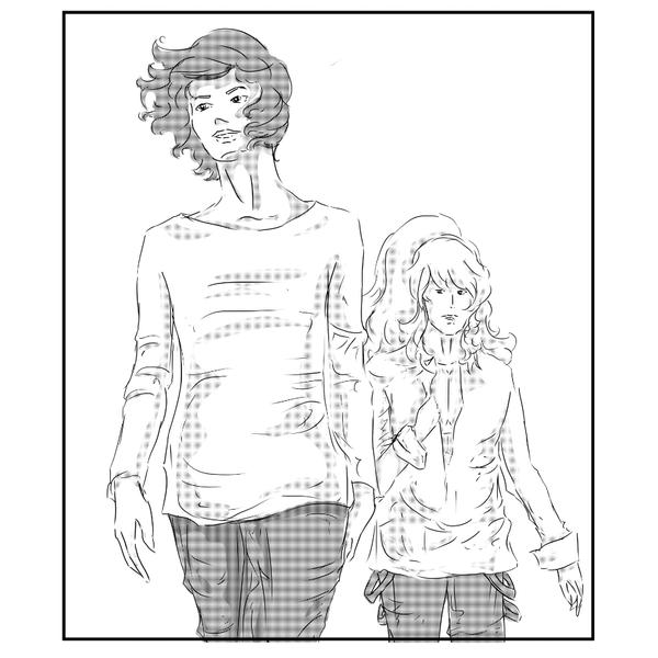 A Panel from 'The Boy of my Dreams' by Aidadaism