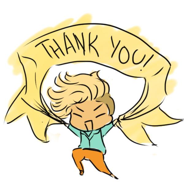 Chibi Ai Ai #2 - Thank You~! by Aidadaism