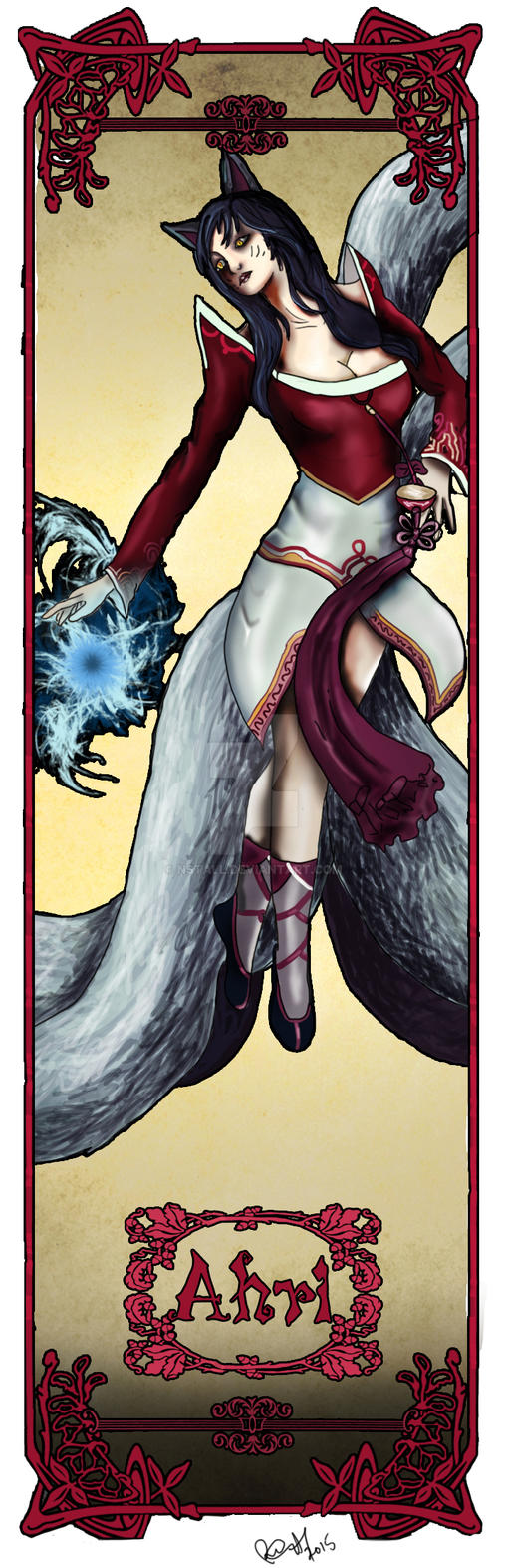 Ahri LOL - bookmarks by NSTaLL