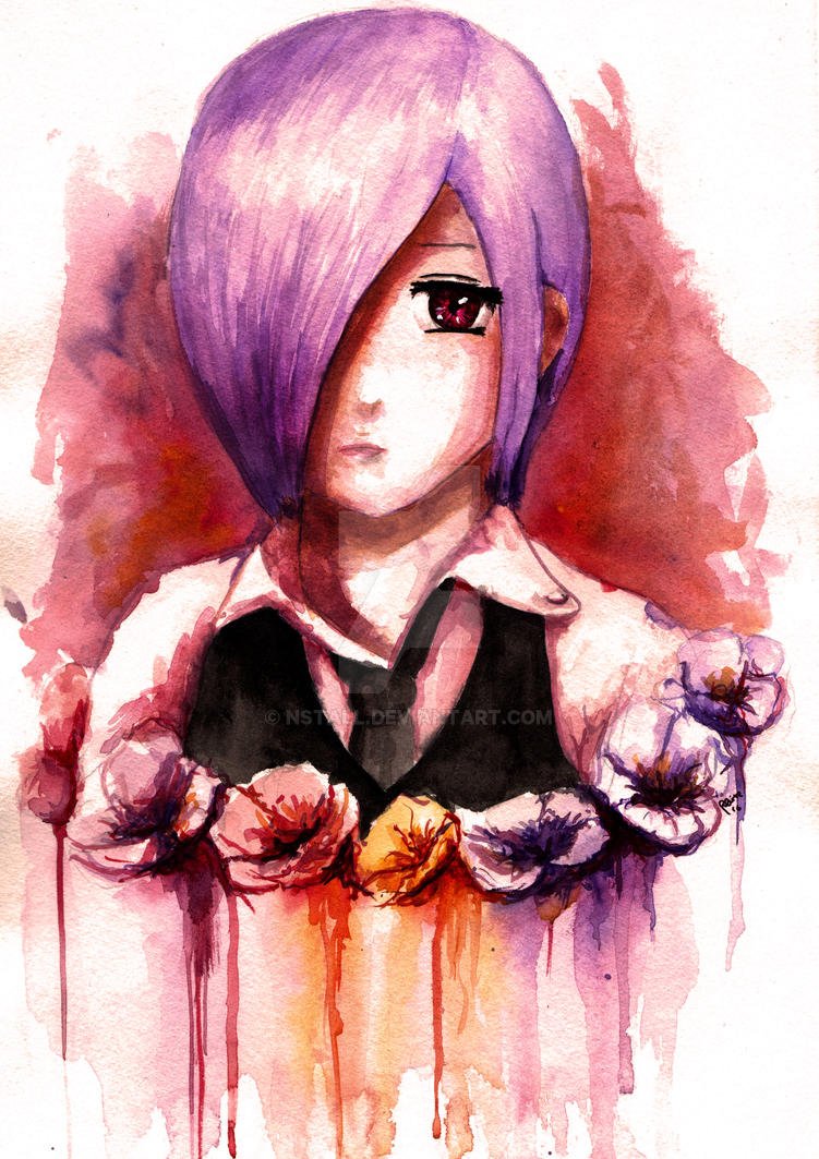 Touka - Tokyo Ghoul by NSTaLL