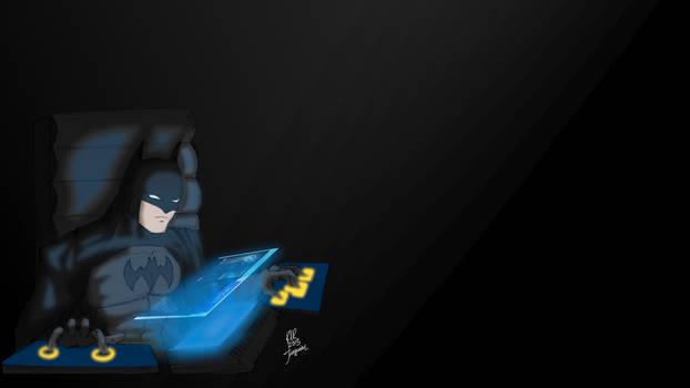 Batman Computador Color Fuguim 2013 wallpaper