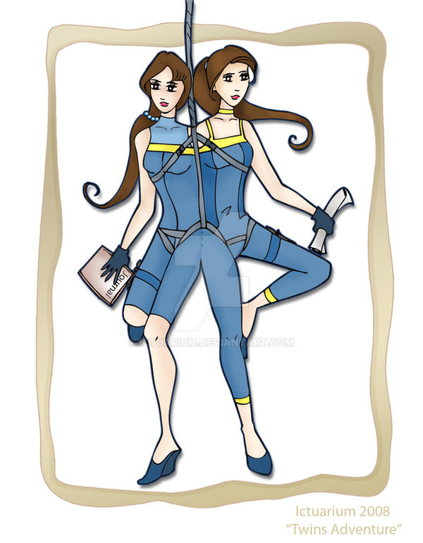 Twins' Adventure by ictuarium