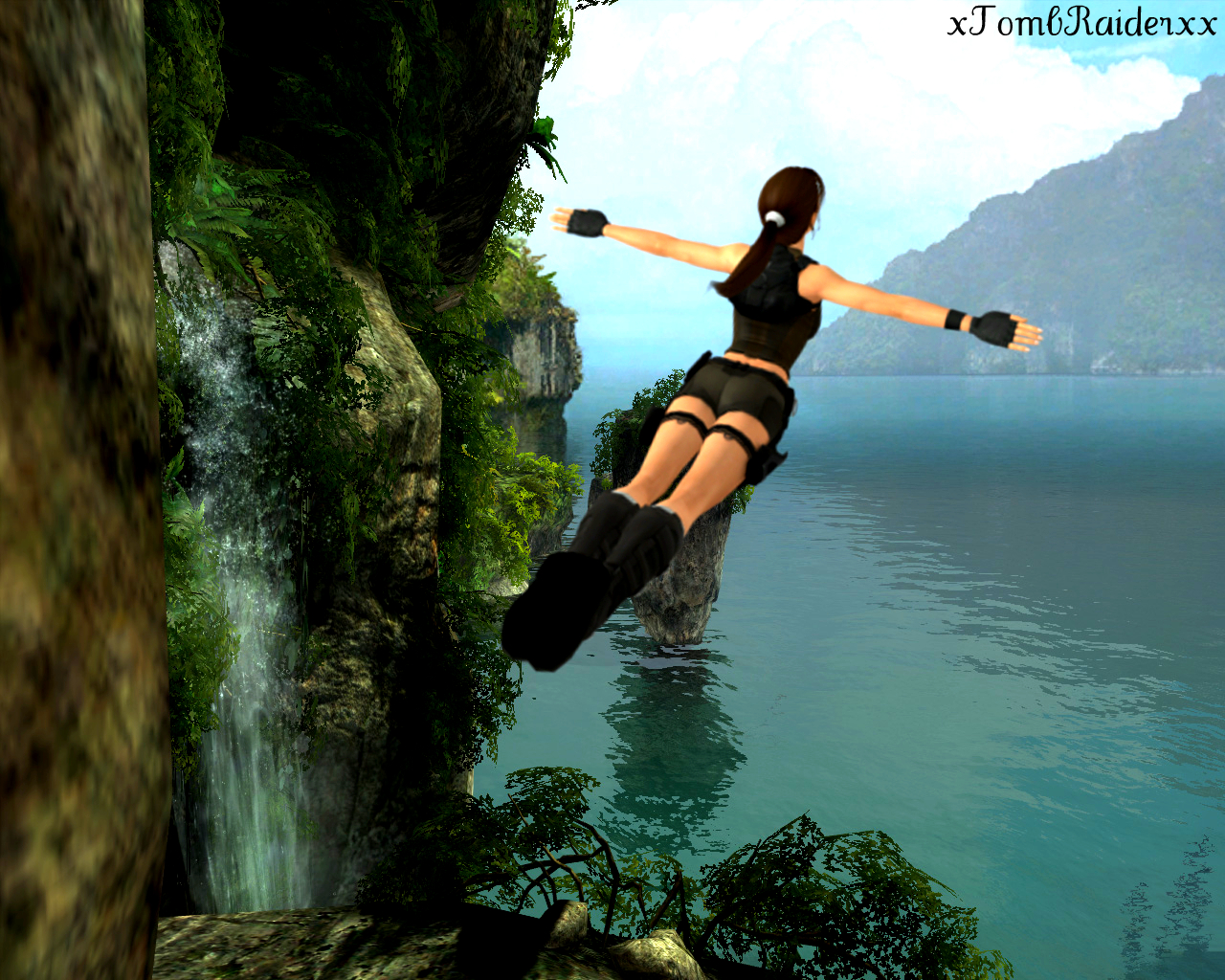 XPS Lara Sola from Tomb Raider The Dagger of Xian by
