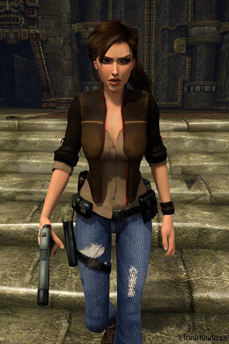 Lara Portrait 47 by XTombRaiderxx