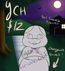 Trick or Treat YCH