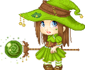 Green witch :animated: by Setsu-sama