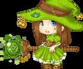 Green witch :animated: by Setsu-sama