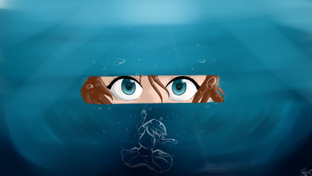 Underwater (Bajo el agua) by Rikkua020399