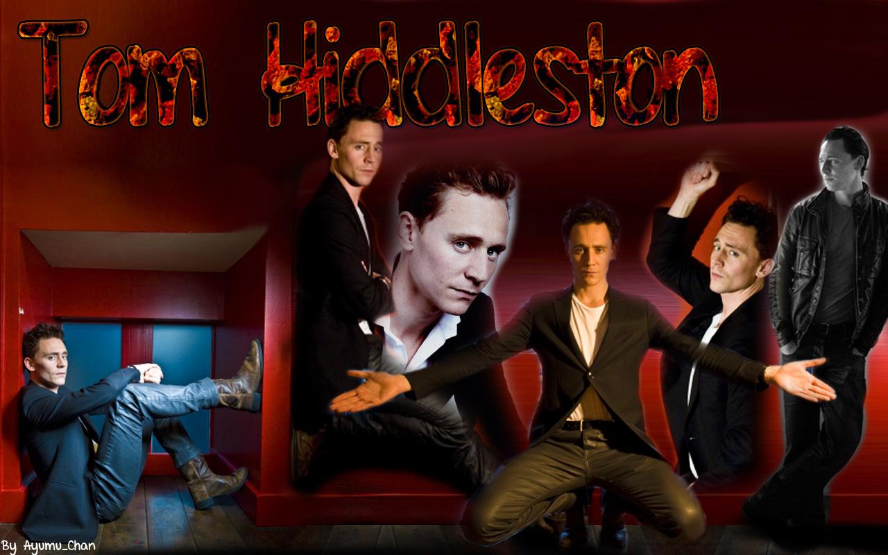 Tom Hiddleston Wallpaper by AyumuYamada