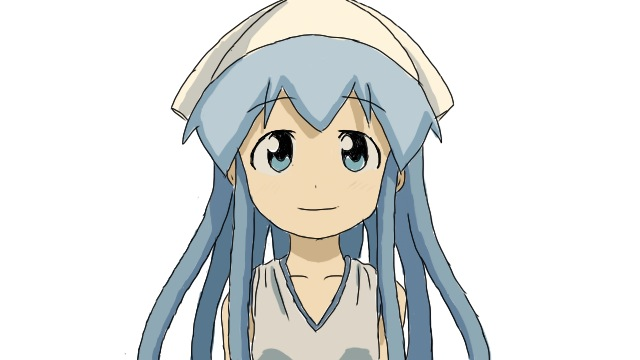 Squid Girl iPhone drawing by Zero-chan13