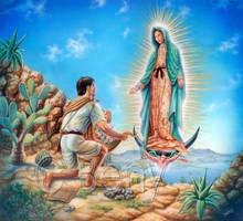 Virgen de Guadalupe by benyhibridos