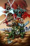 The mutants and Mumm-ra color
