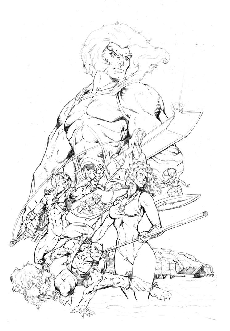 Thunder cats coloring pages sketch coloring page for Coloring pages thundercats