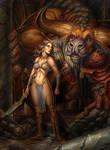Minotaur and Ariadne