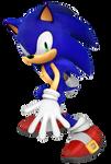 Sonic The Hedgehog 3D pose (?)
