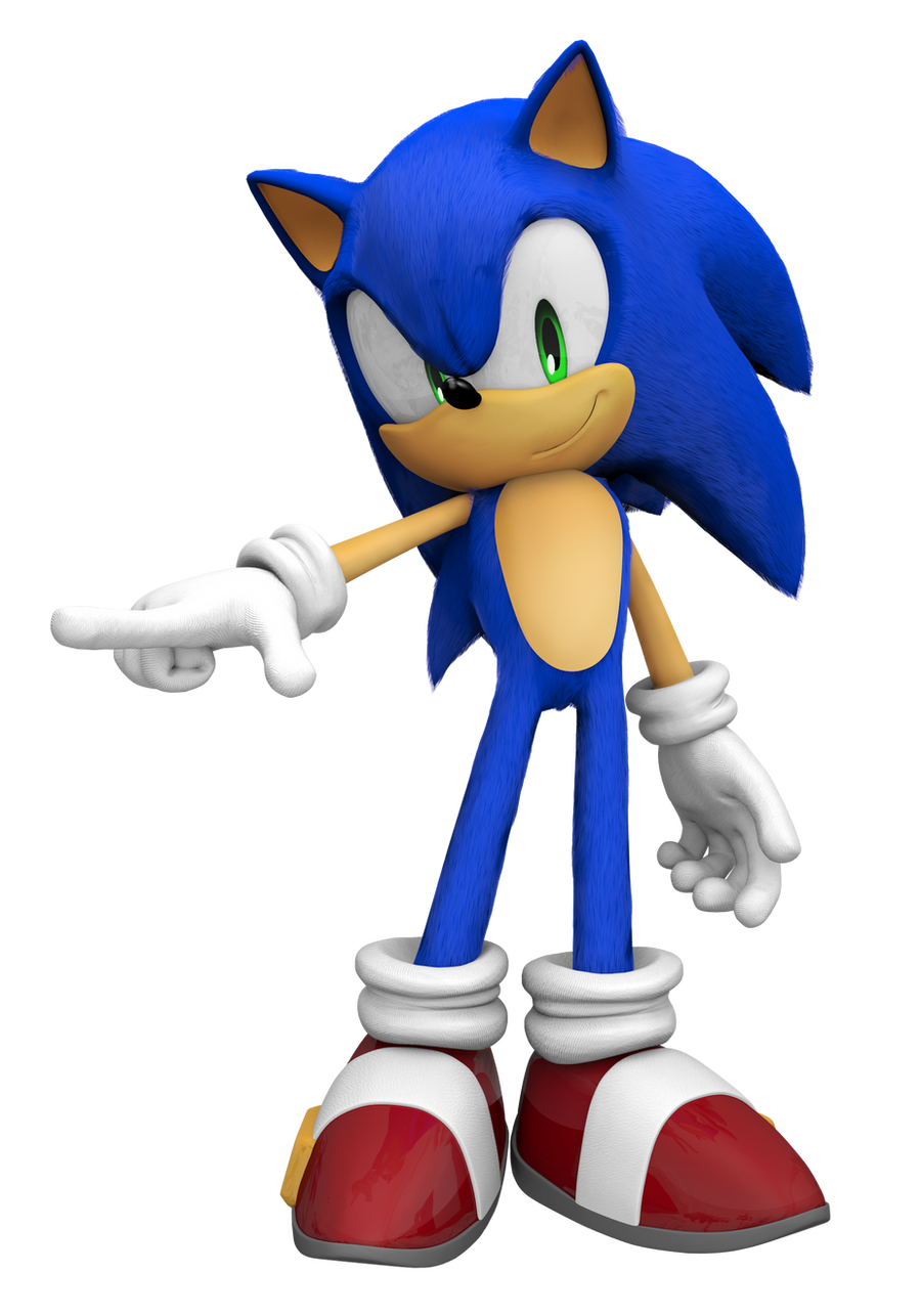 Sonic The Hedgehog 3D by Fentonxd