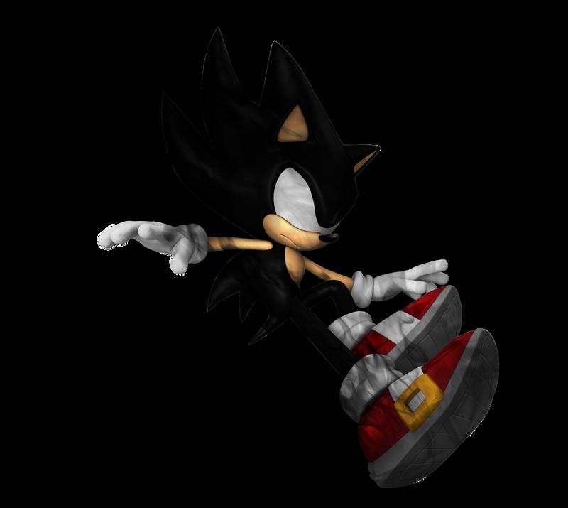 Dark Super Sonic by Fentonxd