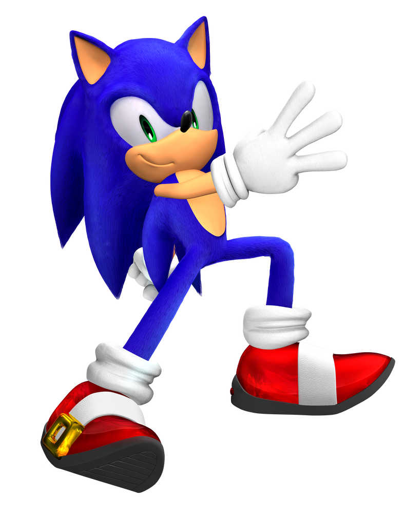 Let's remake this. Sonic Adventure 3 Pose by Fentonxd