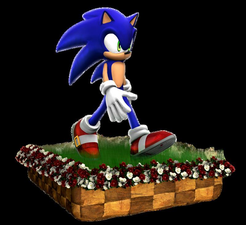 Sonic The Hedgehog Next Gen (Test) by Fentonxd