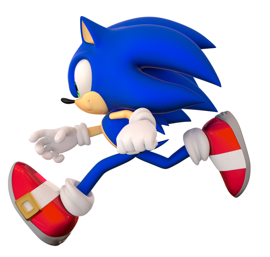 Some Sonic The Hedgehog Render by Fentonxd