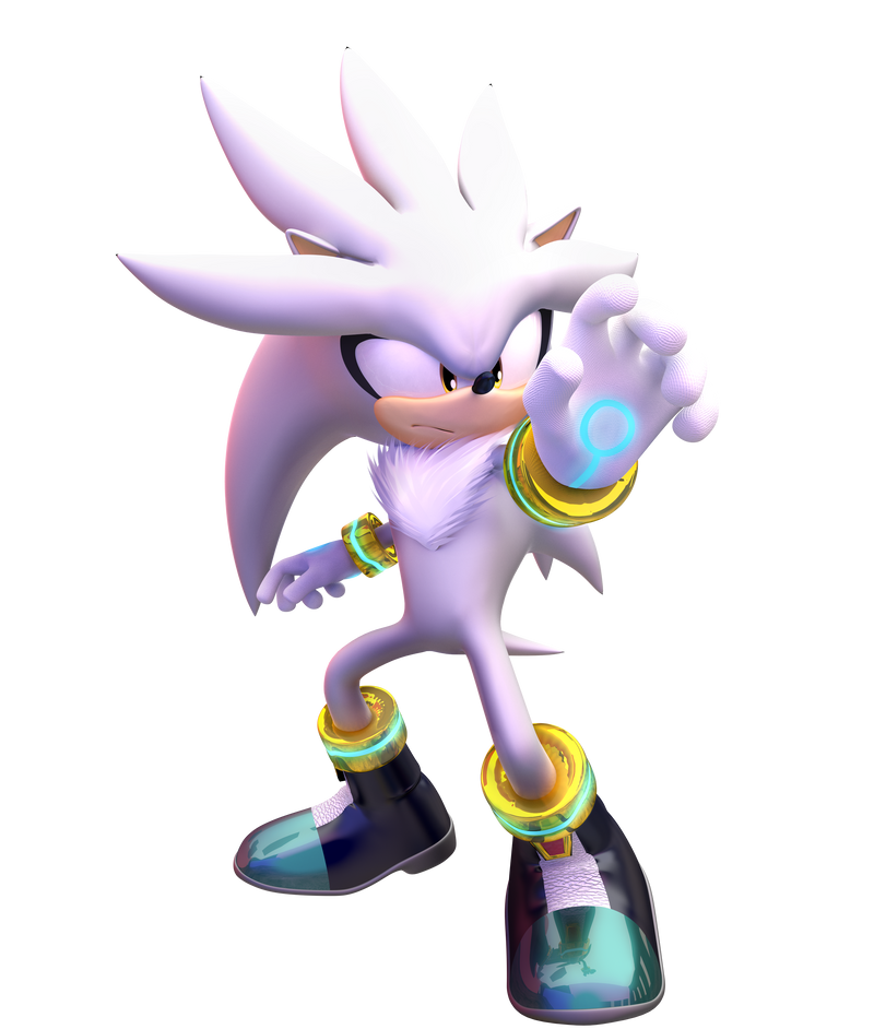Silver The Hedgehog by Fentonxd