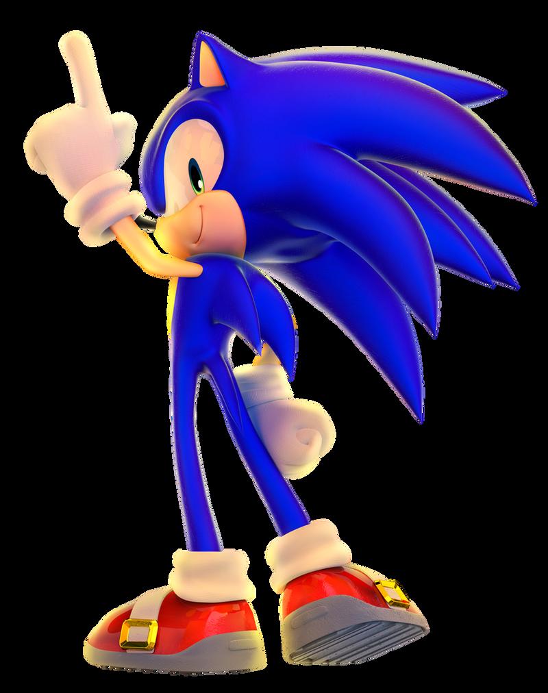 Sonic Next Gen by Fentonxd