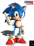 Remodeled Classic Sonic