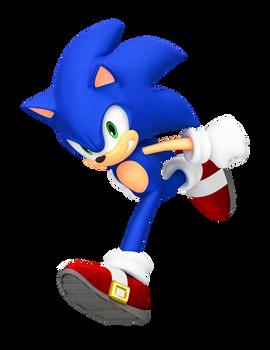 Smash Bros Wii U Sonic