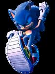 Sonic by Fentonxd