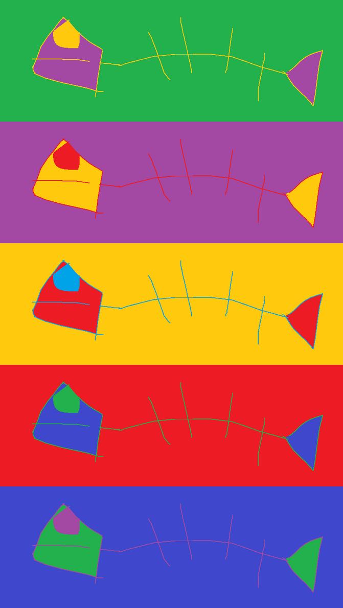 Abstract Fish by TaichiGGP